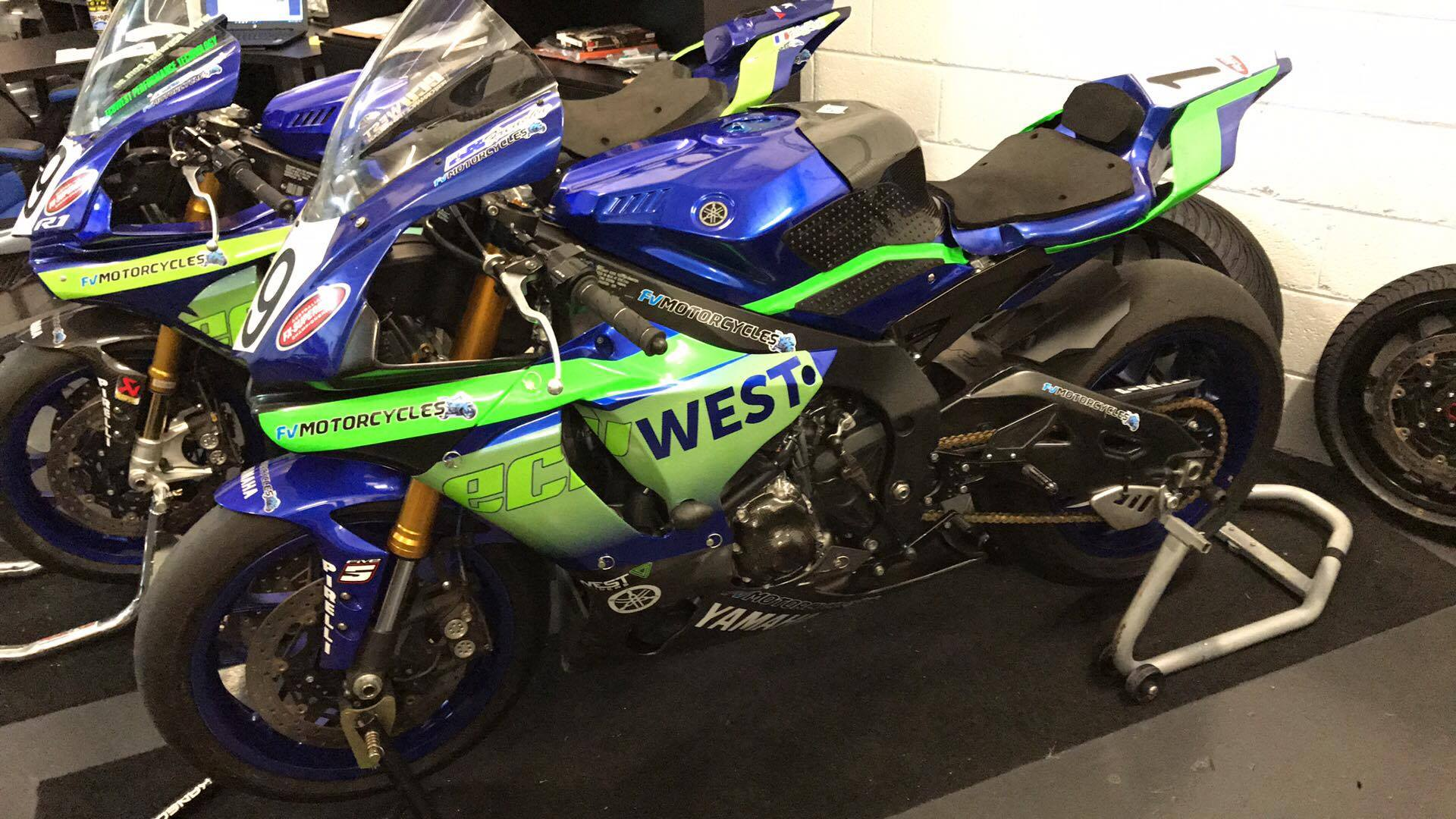 Yamaha R1 2015 Transformation Project Here ECU West Also Runs Great Courses On AlienTech Products And ECM Drivers To Learn How Properly Map Tune